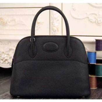 Hermes Bolide 31cm Togo Leather Black Bag