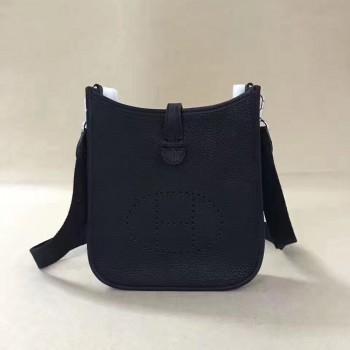 Hermes Mini Evelyne TPM Bag Black