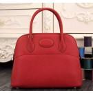 Hermes Bolide 31cm Togo Leather Red Bag
