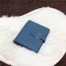 Hermes Bi-Fold Wallet H006 blue