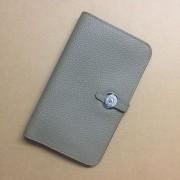 Hermes Dogon Wallet Togo Leather H001 Grey