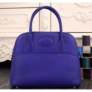 Hermes Bolide 31cm Togo Leather Electric Blue Bag