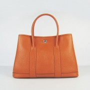 Hermes Garden Party Handbag Small 31cm Orange