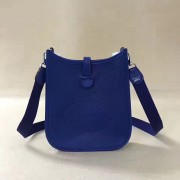 Hermes Mini Evelyne TPM Bag Electric Blue