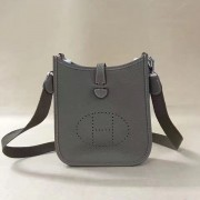Hermes Mini Evelyne TPM Bag Elephant Grey