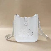 Hermes Mini Evelyne TPM Bag White
