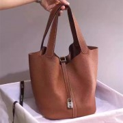 Hermes Picotin Lock Togo Leather Camel