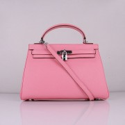 Hermes Kelly 32cm Togo leather 6108 cherry pink silver