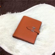 Hermes Bi-Fold Wallet H006 orange