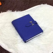 Hermes Bi-Fold Wallet H006 Electric Blue