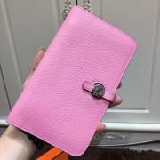 Hermes Dogon Wallet Togo Leather H001 Pink