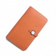 Hermes Dogon Wallet Togo Leather H001 Orange