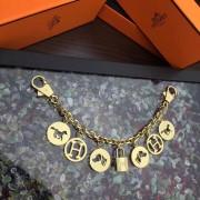 Hermes Bag Charms Long Chain Gold