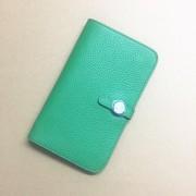 Hermes Dogon Wallet Togo Leather H001 Green
