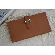 Hermes Bearn Wallet Epsom Leather H005 Camel