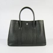Hermes Garden Party Handbag Small 31cm Black