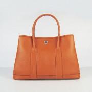 Hermes Garden Party Handbag Small 31cm Orange