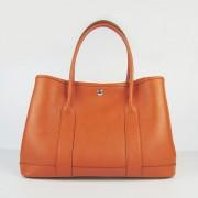 Hermes Garden Party Handbag Large 36cm Orange