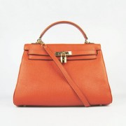 Hermes Kelly 32cm Togo leather 6108 orange golden