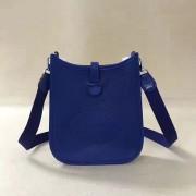 Hermes Mini Evelyne TPM Bag Electric Blue