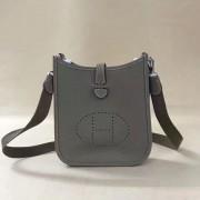Hermes Mini Evelyne TPM Bag Elephant Grey