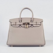 Hermes Birkin 30cm Togo leather Handbags grey gold