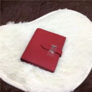 Hermes Bi-Fold Wallet H006 Red